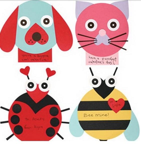 Kid s valentine craft inspiration m l m b z for Valentines crafts for kids