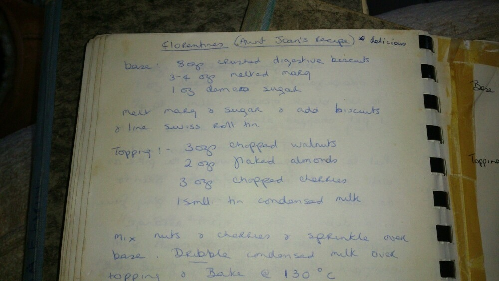 My great aunt's homemade Florentine tray bakes - recipe (4/6)