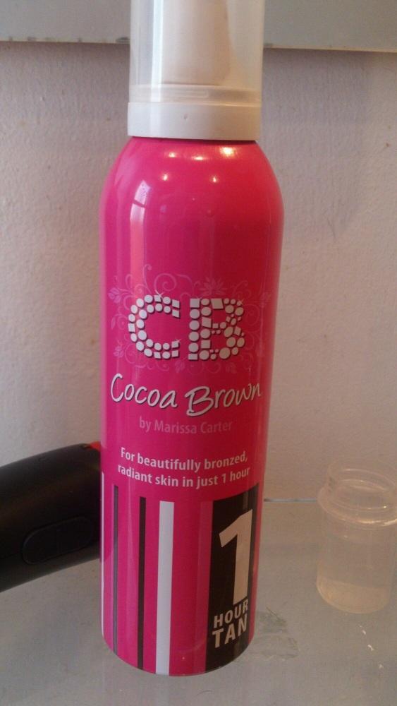 Cocoa Brown and He-Shi fake tan review (2/6)