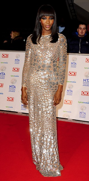 National Television Awards, The O2, London, Britain - 22 Jan 2014