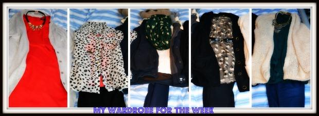 my wardrobe of the week