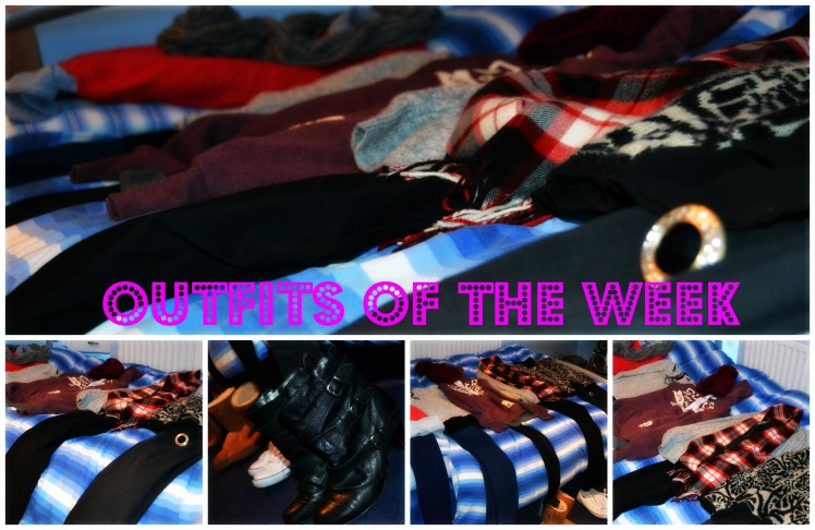 outfits of the week