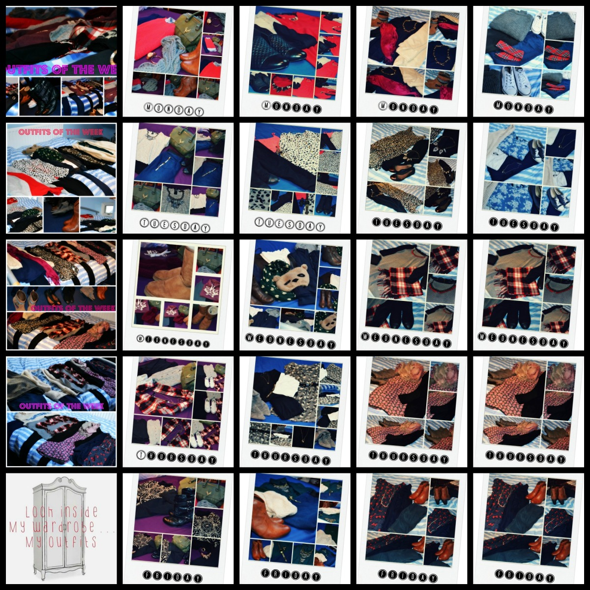 PicMonkey Collage clothes