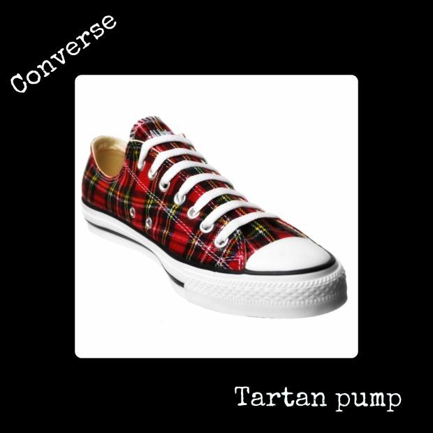 tartan converse
