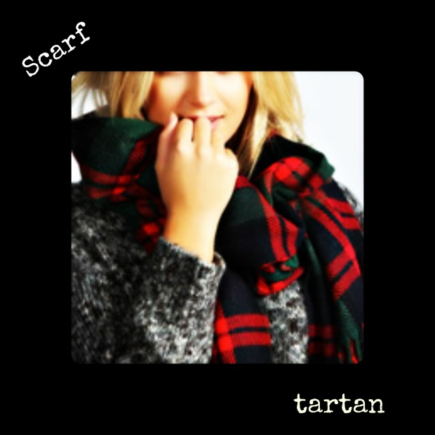 tartan scarf 1