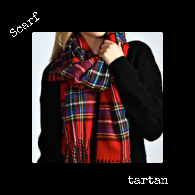 tartan scarf 2